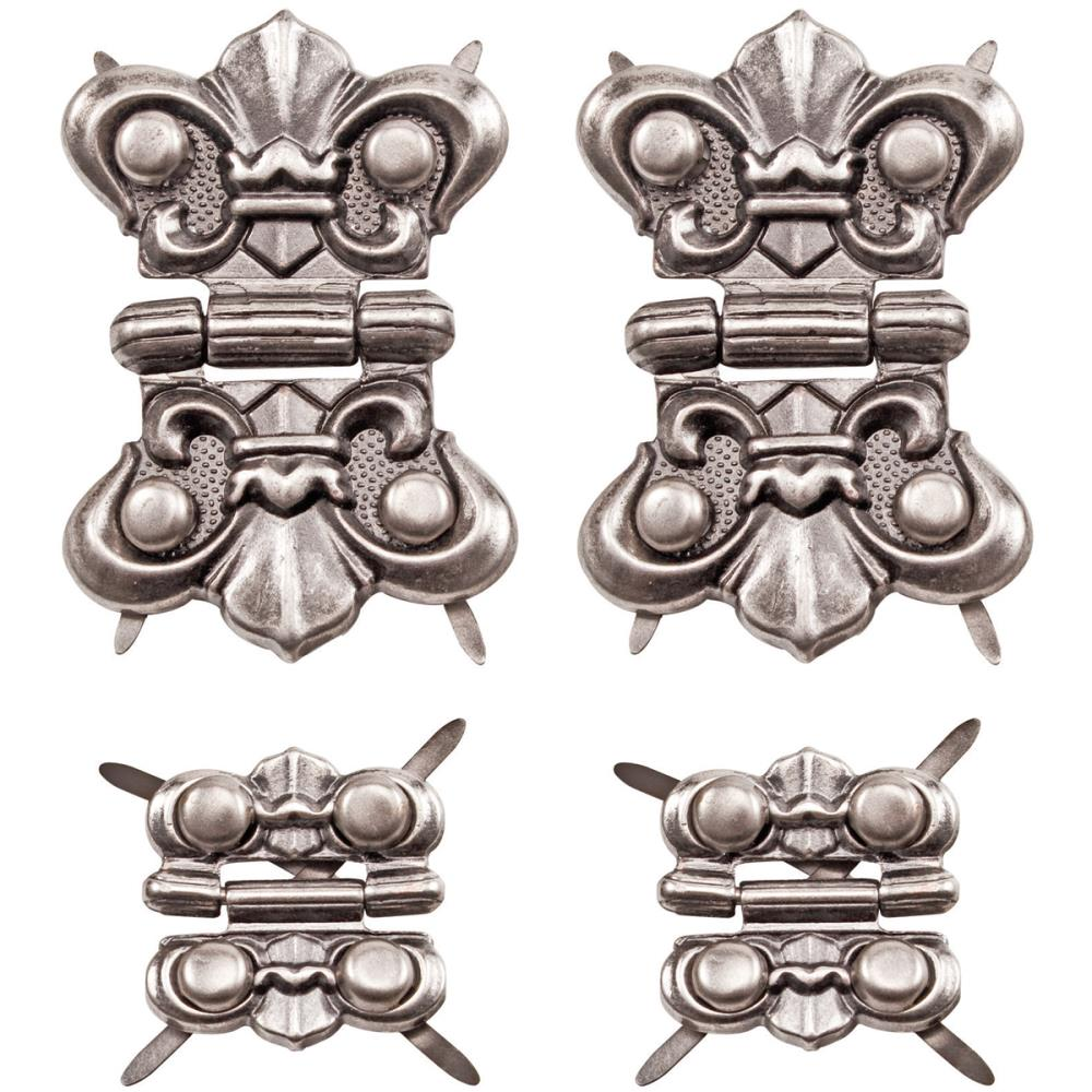 Antique Nickel  Hinges