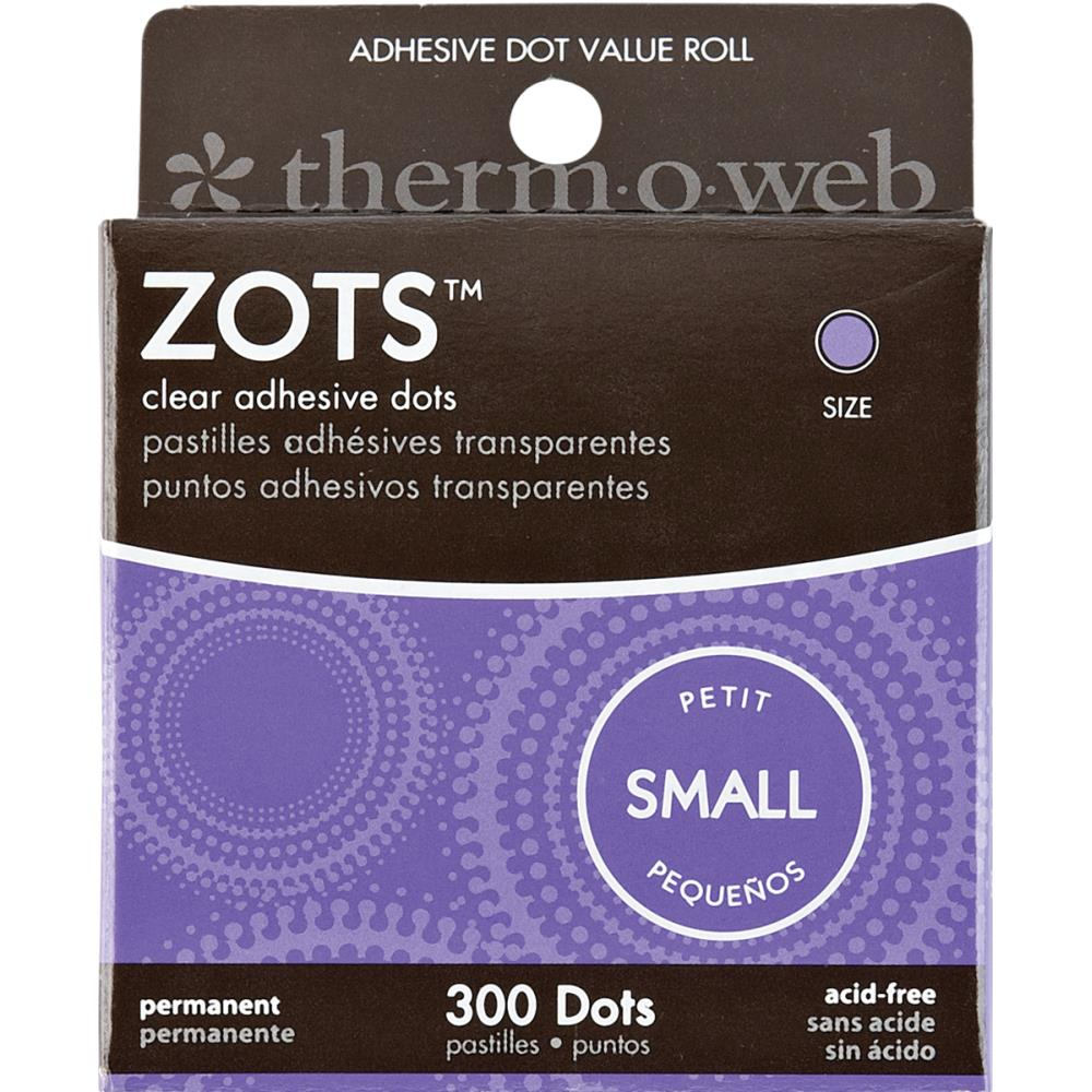 Zots Clear Adhesive Dots-Small