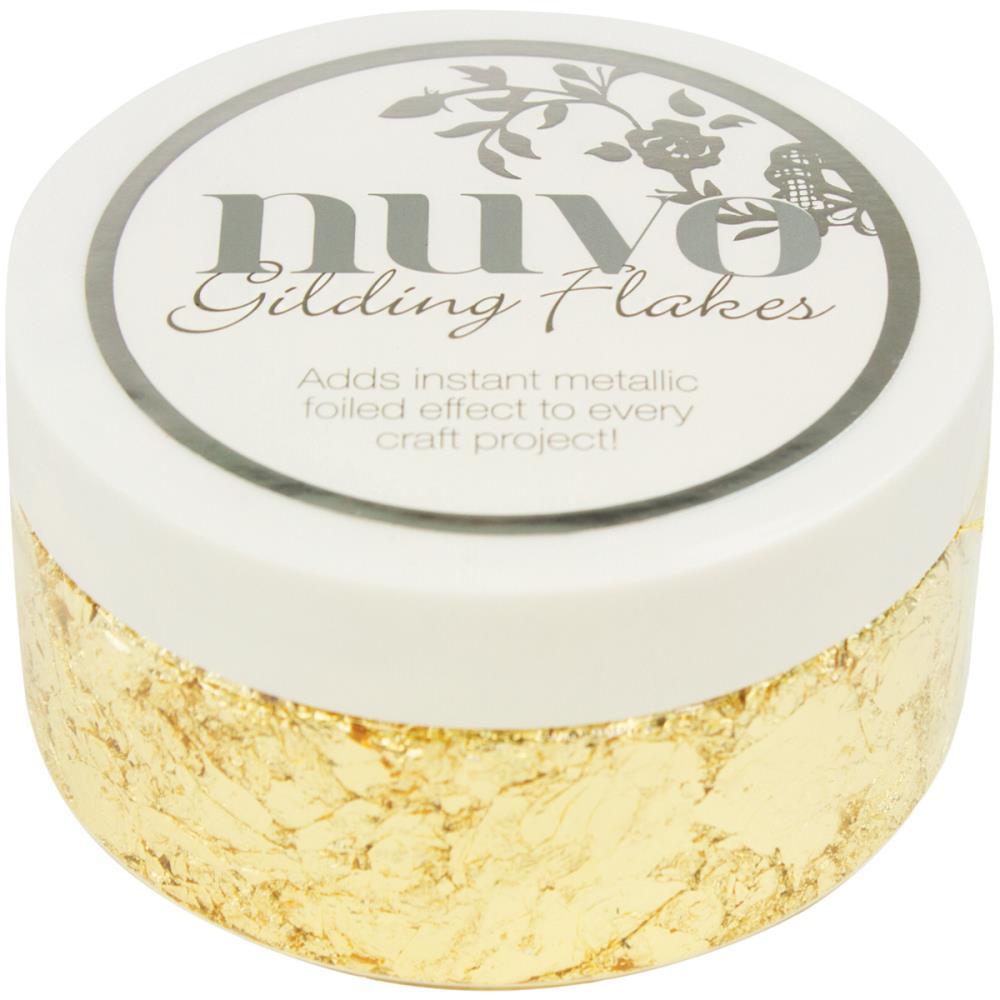 Nuvo Gilding Flakes- Radient Gold