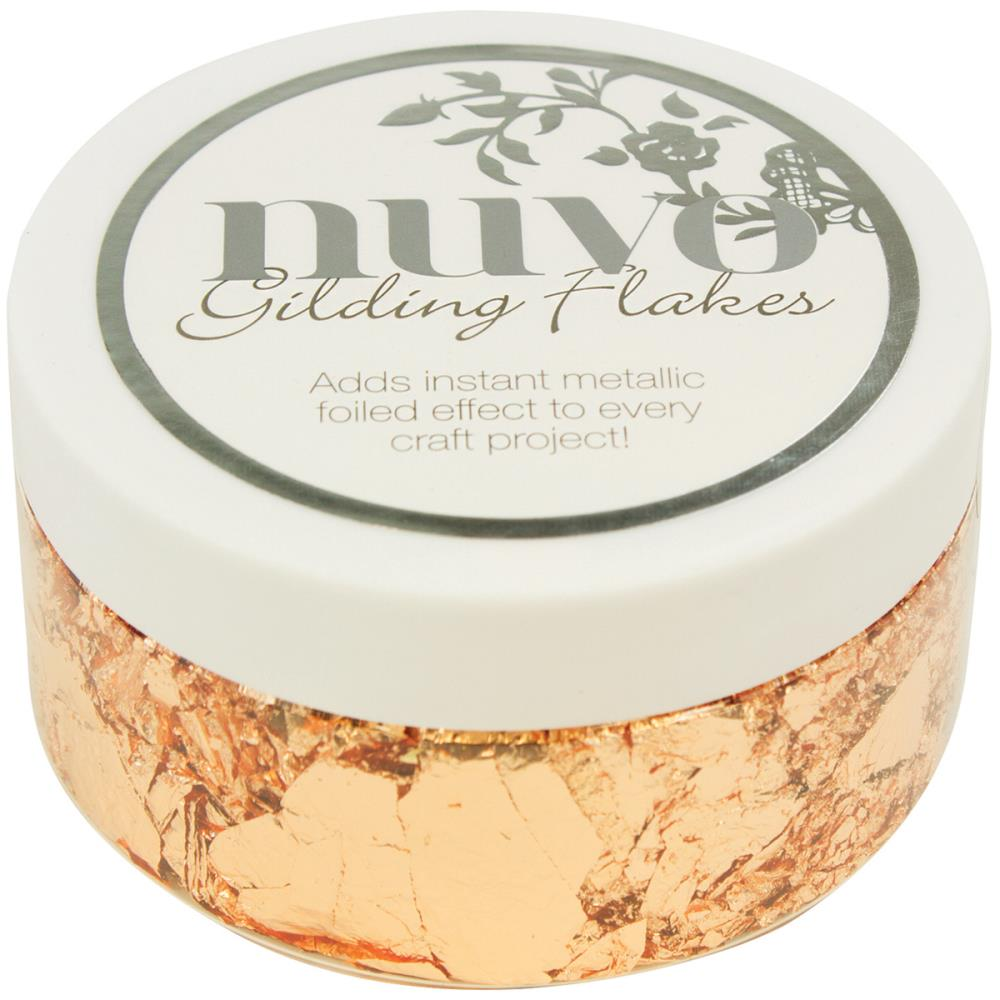 Nuvo Gilding Flakes-Sunkissed Copper