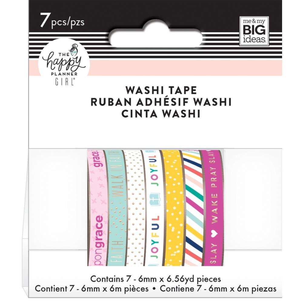 Happy Planner Skinny Washi Tape Faith Warrior