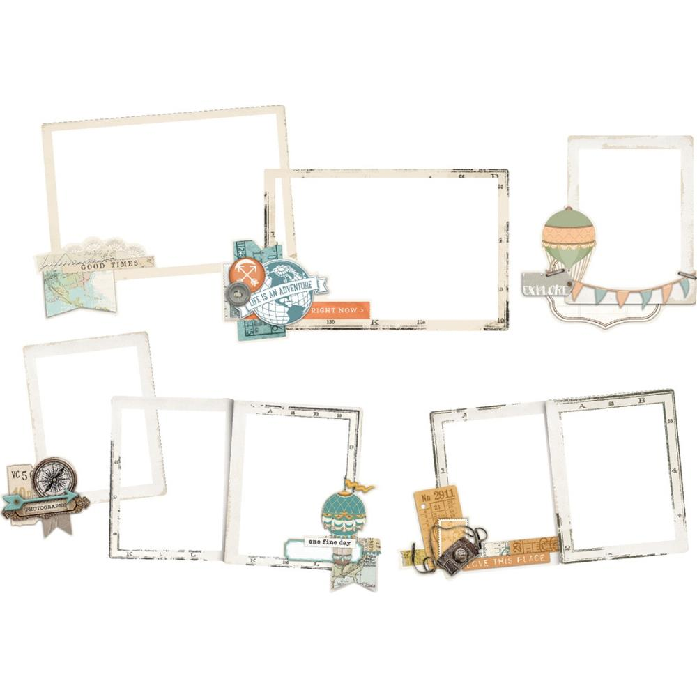 6 chipboard frames