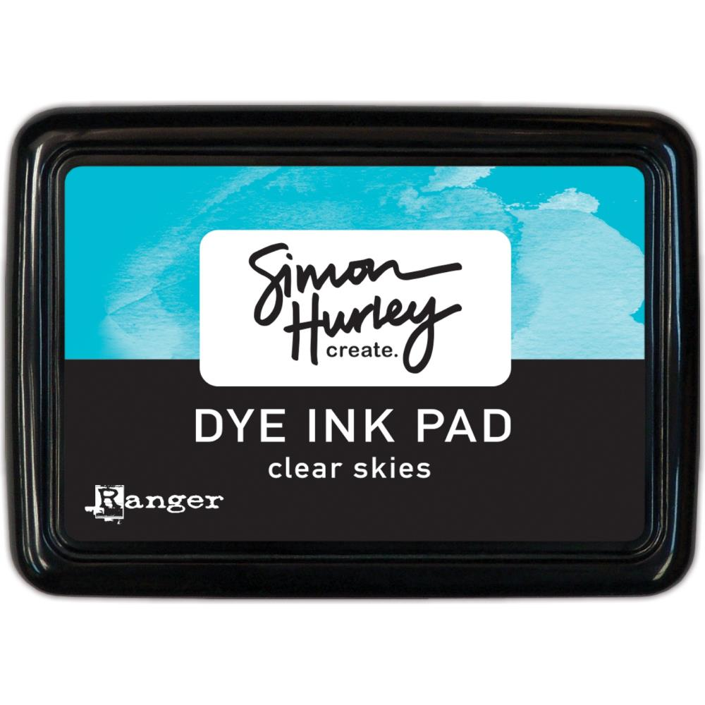 Simon Hurley create. Dye Ink Pad- Clear Skies