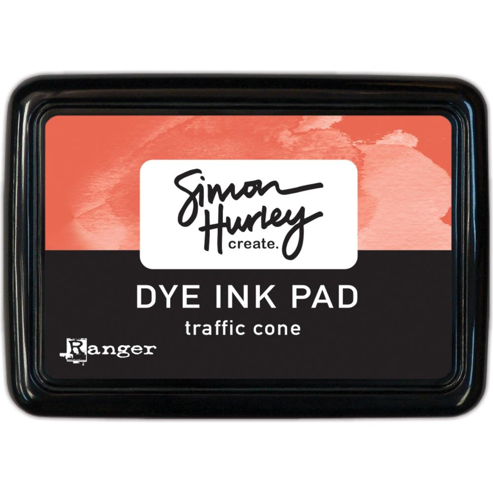 Simon Hurley create. Dye Ink Pad- Traffic Cone