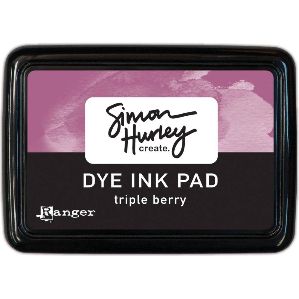 Simon Hurley create. Dye Ink Pad- Triple Berry