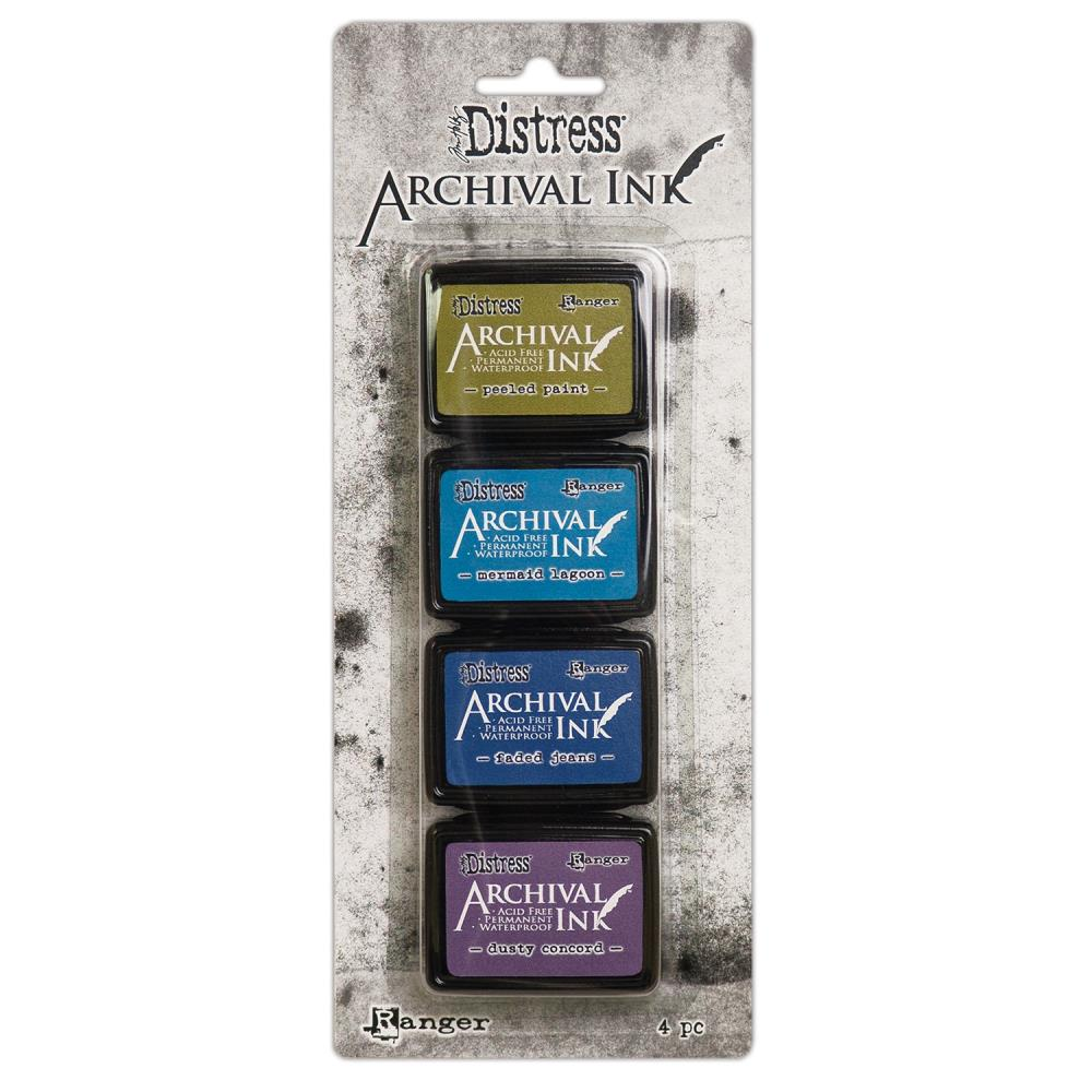 Distress Archival Mini Ink Kit- Kit 2