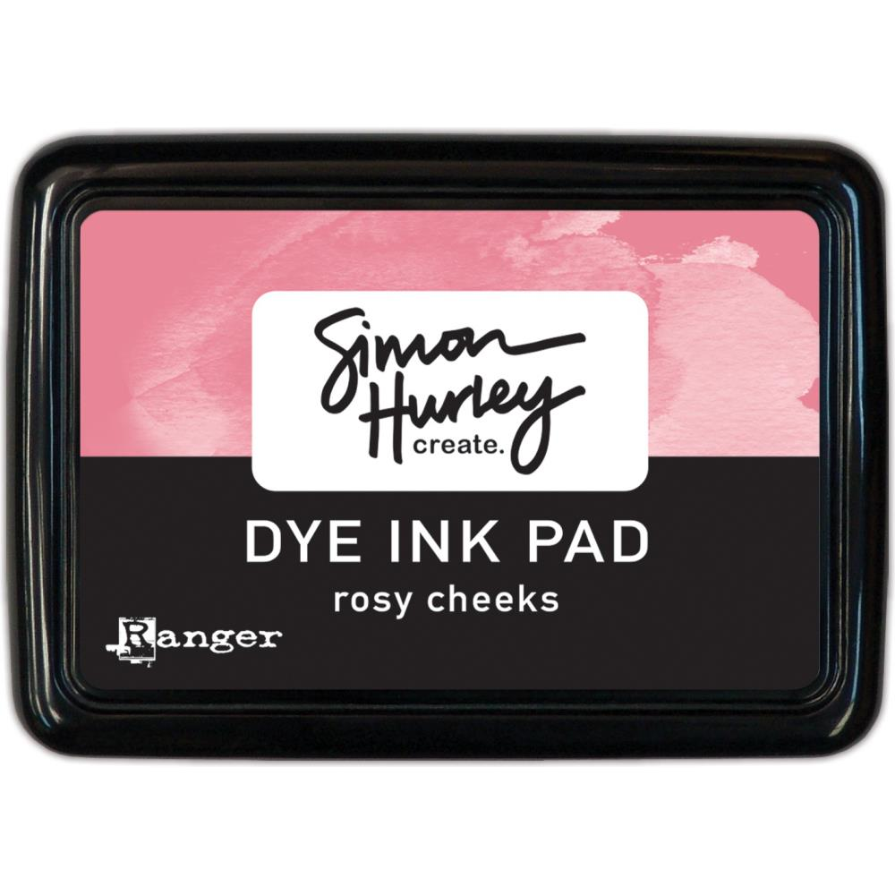 Simon Hurley create. Dye Ink Pad- Rosy Cheeks