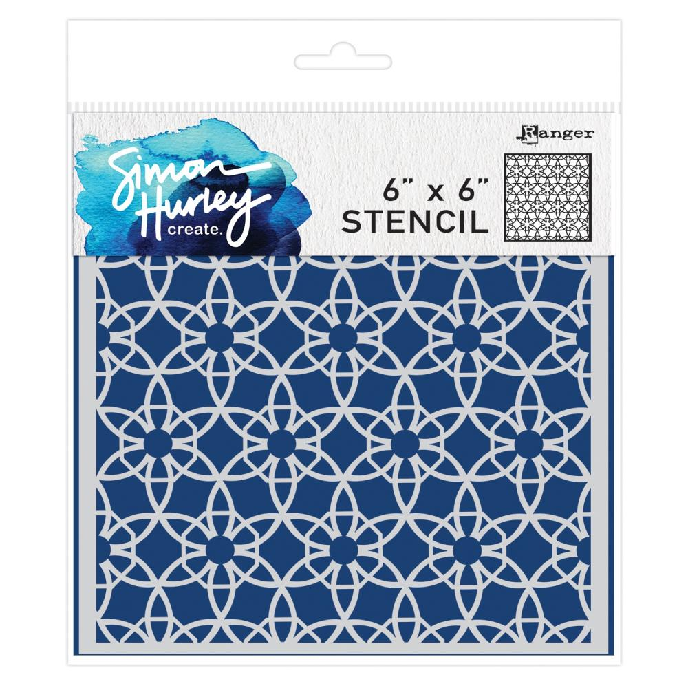 SIMON HURLEY STENCIL- Backsplash