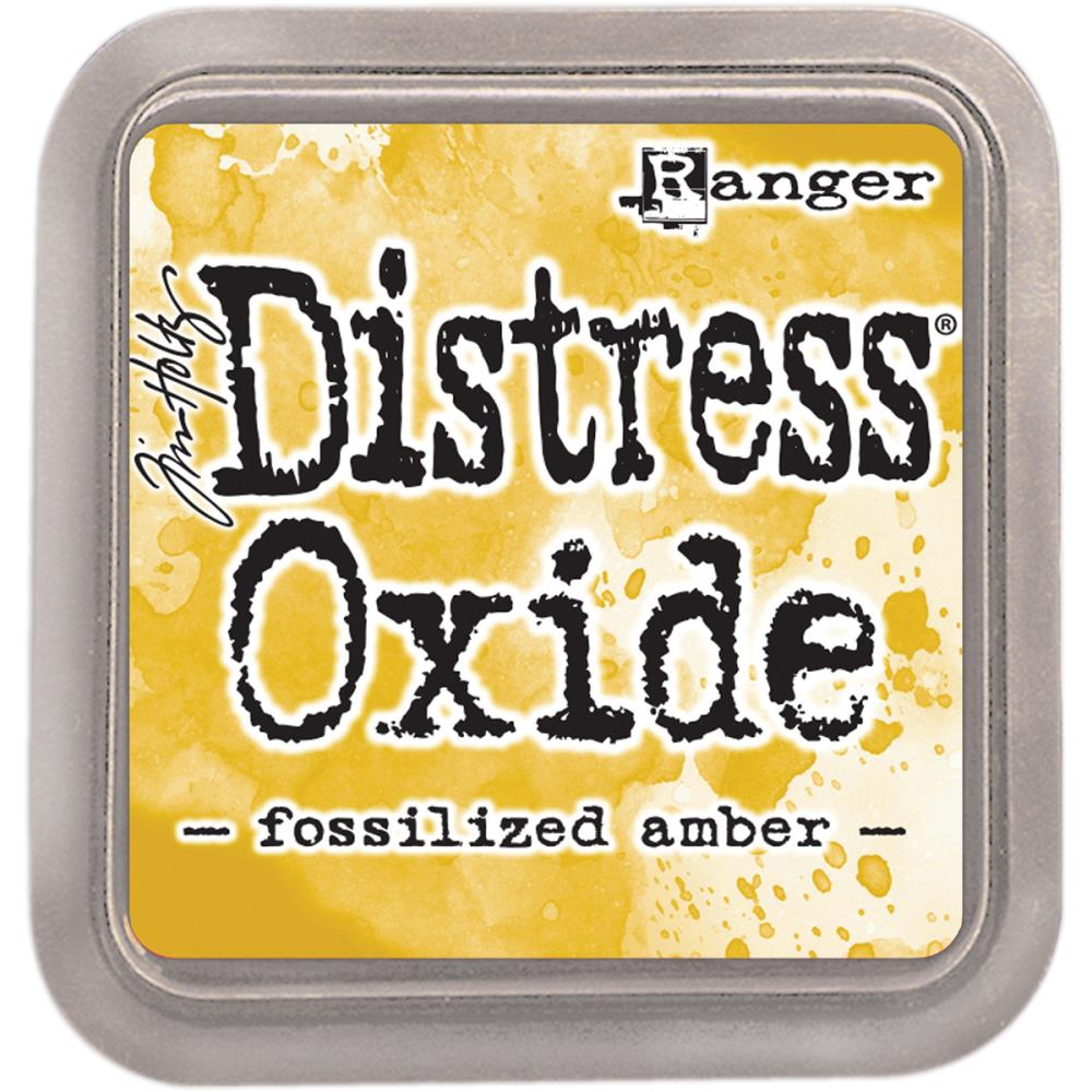 Distress Oxides- Fossilized Amber