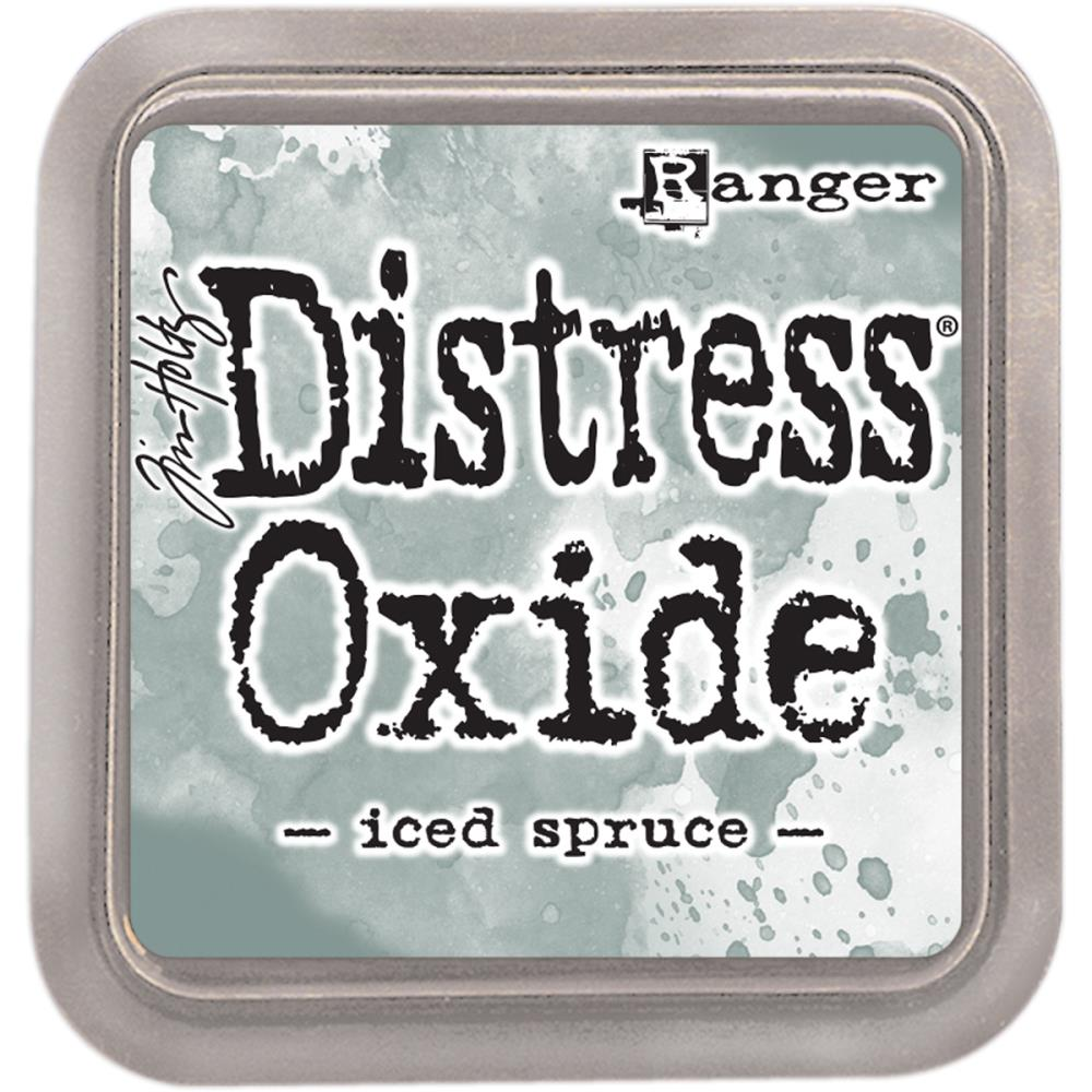 Distress Oxides- Iced Spruce
