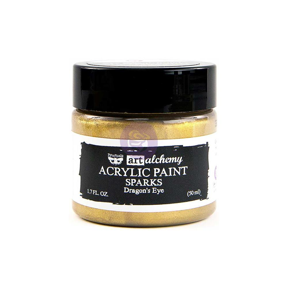 Finnabair Art Alchemy Sparks Acrylic Paint-Dragon