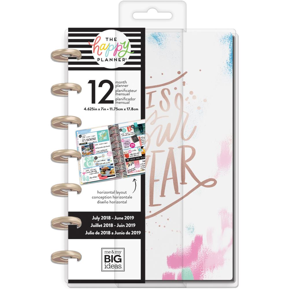 Happy Planner 12-Month Dated Mini Planner