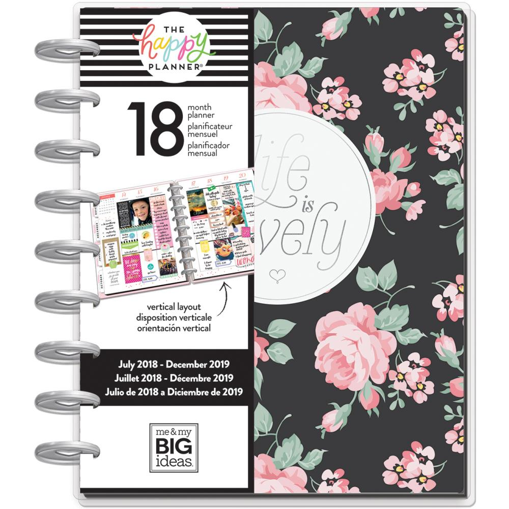 Happy Planner 18-Month Dated Medium