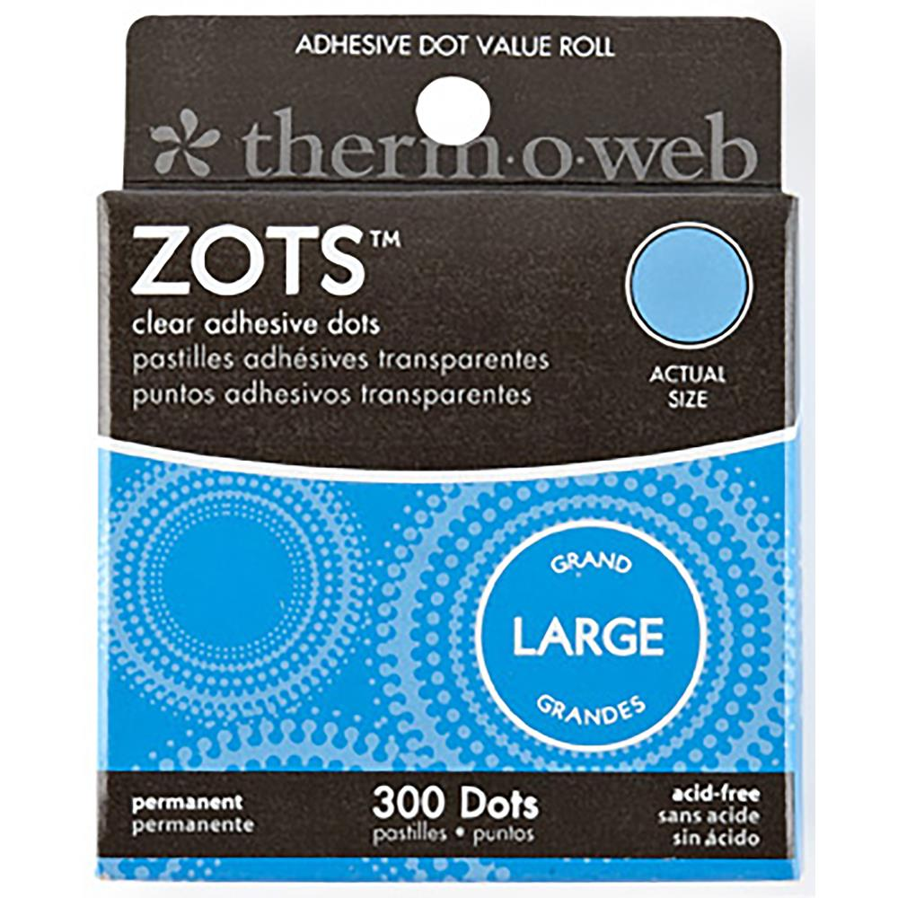 Zots Clear Adhesive Dots-Large