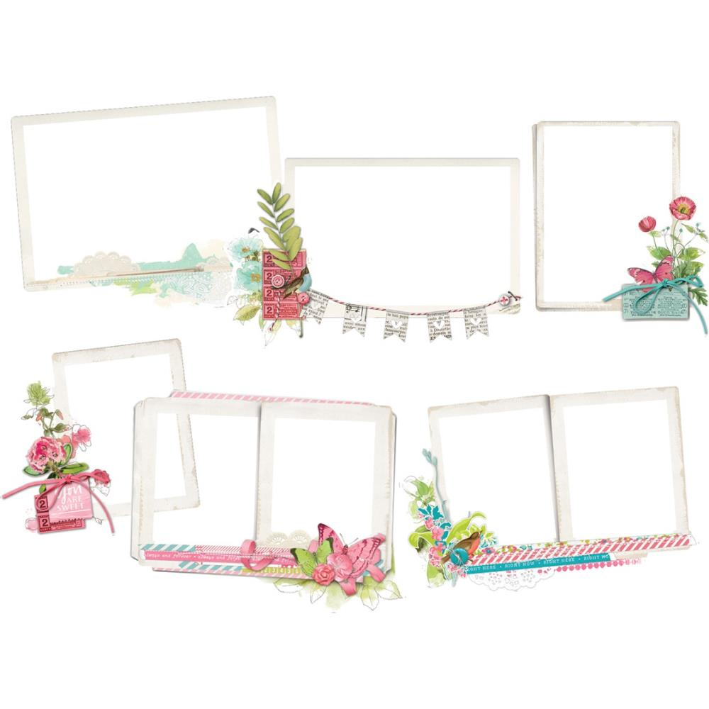 Simple Vintage Botanicals Layered Frames Die-Cuts