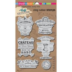 Andy Skinner Cling Stamps Shabby Chic