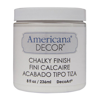 Americana Deco Chalky Paint: Everlasting White
