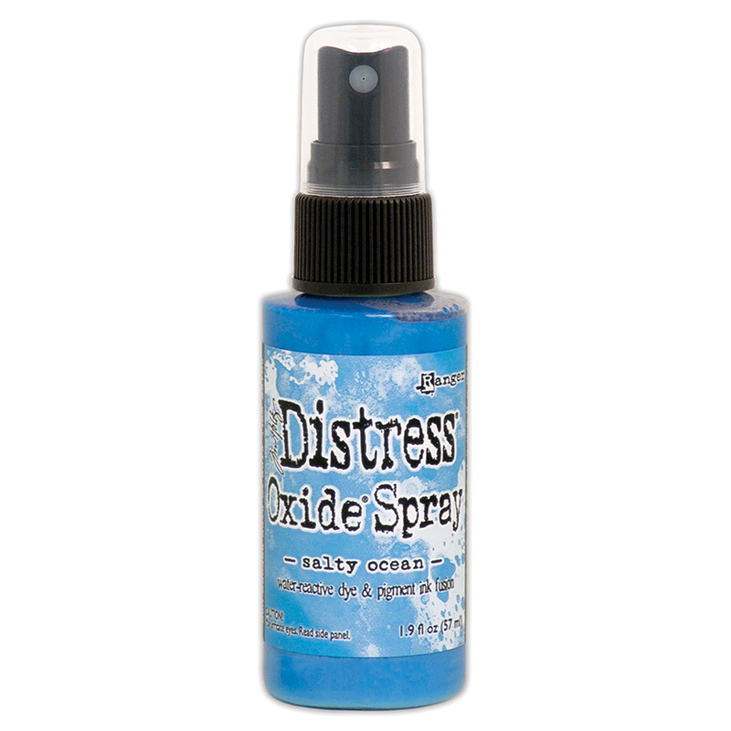 DISTRESS OXIDE SPRAY- Salty Ocean