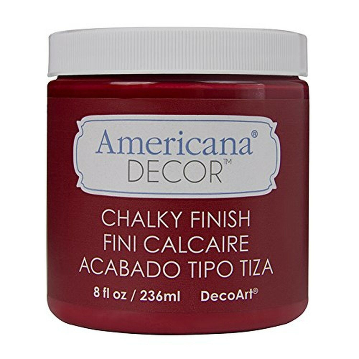 DecoArt Americana Decor Chalky Finish Paint - Rouge